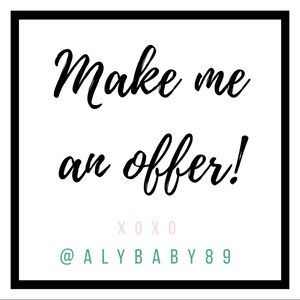 Other - •  make  me  an  offer •